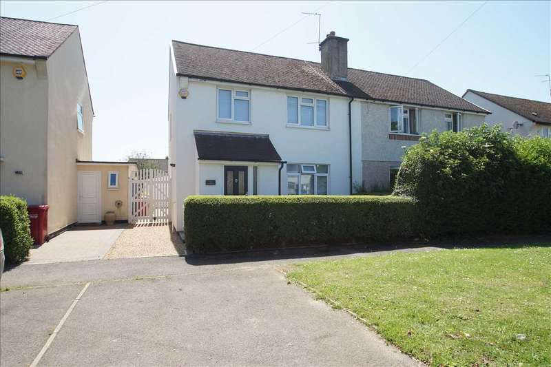 4 Bedrooms Semi Detached House for sale in Moreton Way, Cippenham, Slough