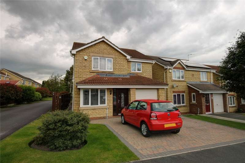 4 Bedrooms Detached House for sale in Oakfields, Hunwick, Crook, DL15
