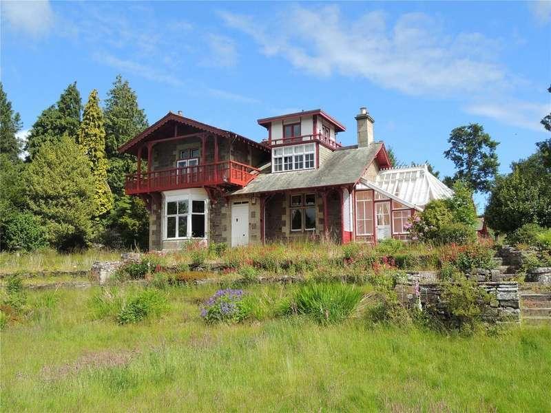 5 Bedrooms Detached House for sale in Castlepark Lodge, 80 Broomgate, Lanark, South Lanarkshire, ML11
