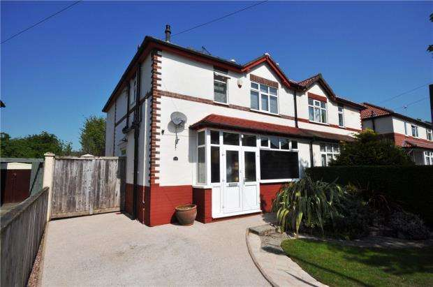 3 Bedrooms Semi Detached House for sale in Sefton Road, Hoole, Chester