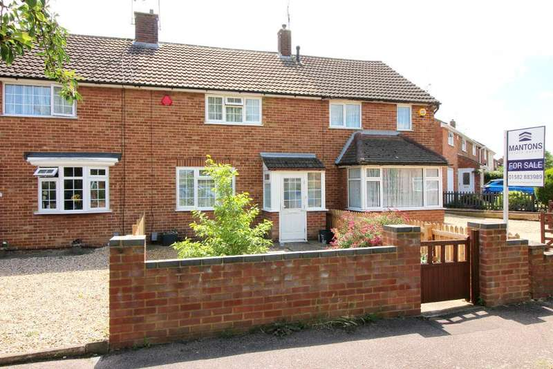 3 Bedrooms Terraced House for sale in Chesford Road, Luton, Bedfordshire, LU2 8DS