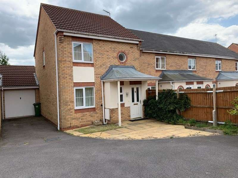 3 Bedrooms Property for sale in Murby Way, Braunstone, Leicester, Leicestershire, LE3 3UH