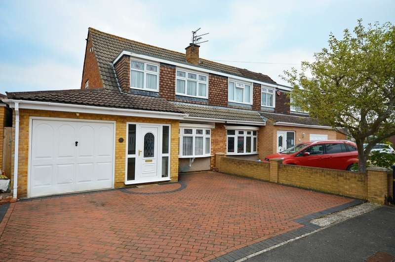 3 Bedrooms Semi Detached House for sale in Materman Road, Stockwood, BS14