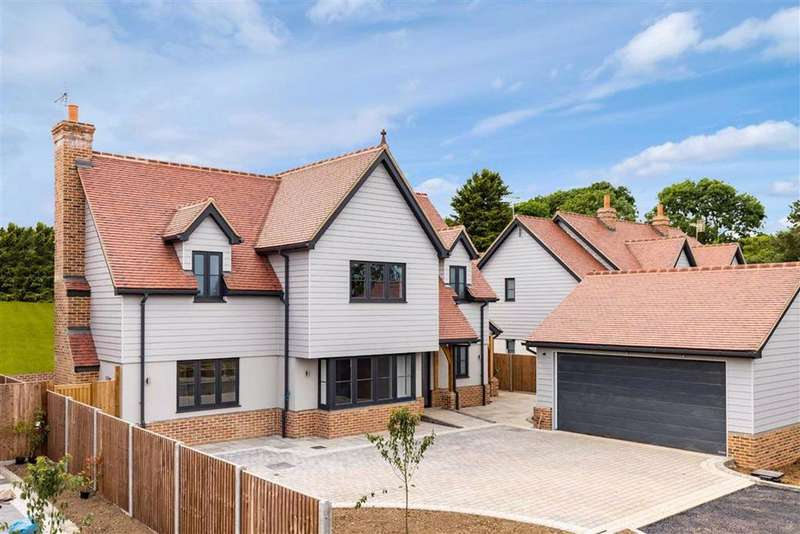 4 Bedrooms Detached House for sale in The Meadows, Hare Street