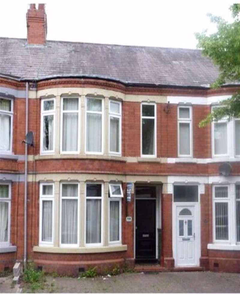 4 Bedrooms Terraced House for sale in Ruskin Road, Crewe