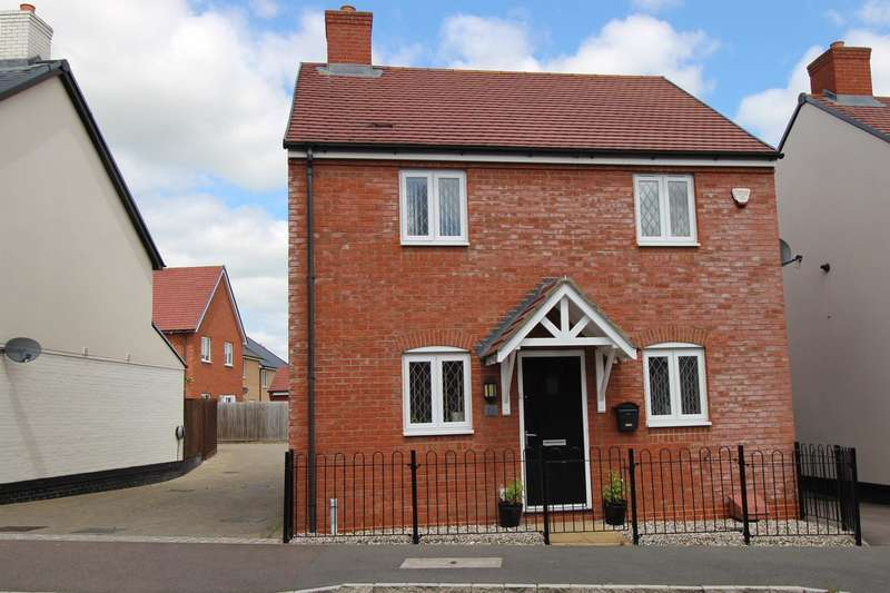 3 Bedrooms Detached House for sale in College Chase, Silsoe, Bedfordshire, MK45