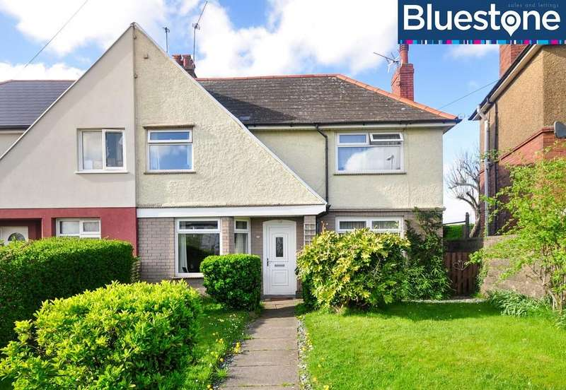 3 Bedrooms Semi Detached House for sale in Christchurch Road, St Julians