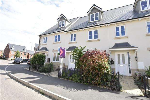 3 Bedrooms Terraced House for sale in Sunrise Avenue, Bishops Cleeve GL52
