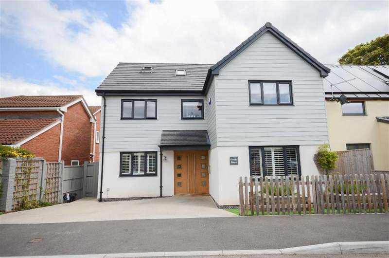 5 Bedrooms Detached House for sale in Church Lane, Downend, Bristol, BS16 6TA