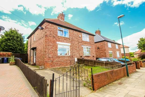 3 Bedrooms Semi Detached House for sale in Oak Avenue, South Shields, Tyne And Wear, NE34 7NU
