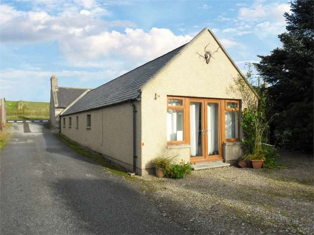 2 Bedrooms Detached Bungalow for sale in Back Street, Newmill, Keith, Moray