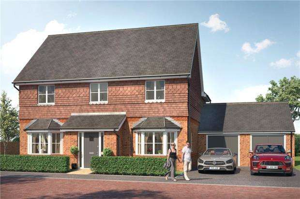 4 Bedrooms Detached House for sale in Finchwood Park, Finchampstead, Berkshire