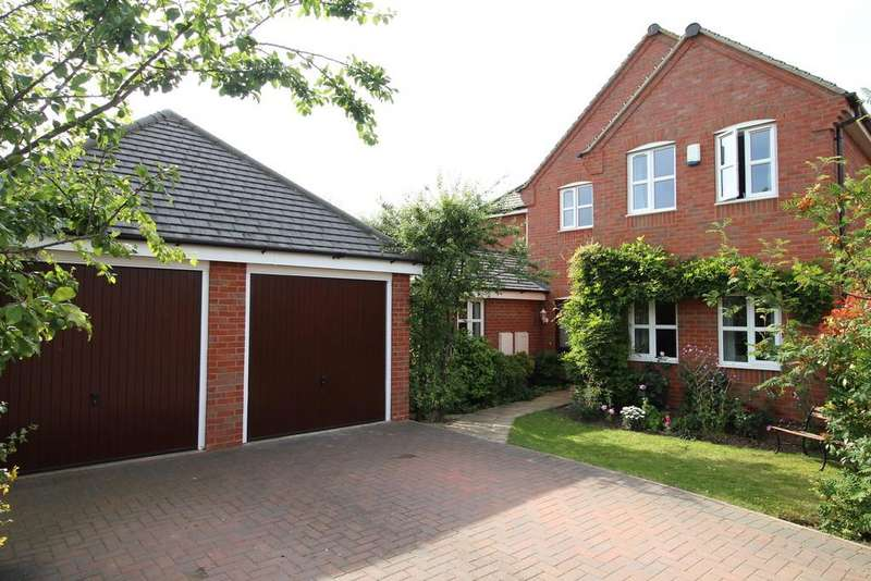 4 Bedrooms Detached House for sale in Toon Close, Mountsorrel