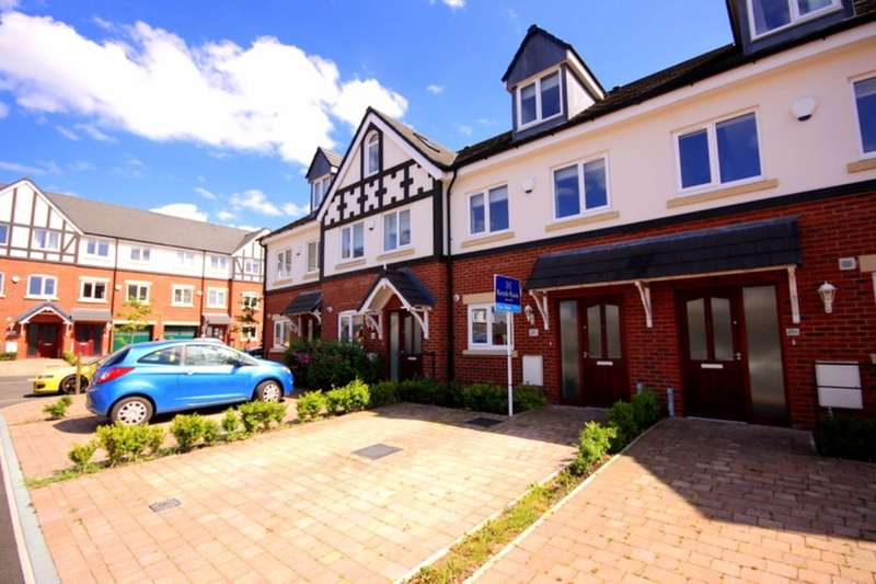 3 Bedrooms Terraced House for sale in Imperial Court, Nantwich, CW5