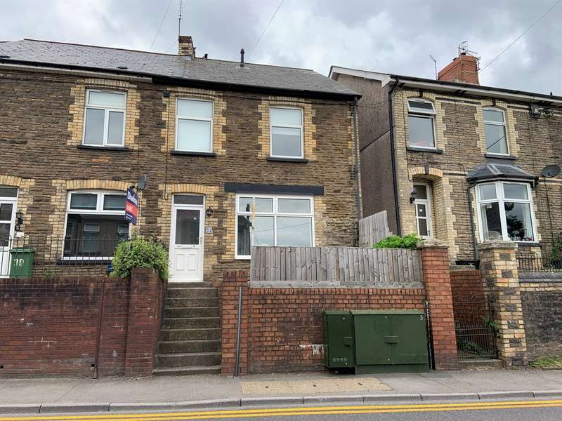 2 Bedrooms End Of Terrace House for sale in Richmond Road, Pontnewydd, Cwmbran