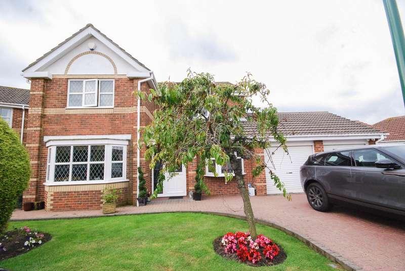 4 Bedrooms Detached House for sale in Broadlands, Cleadon