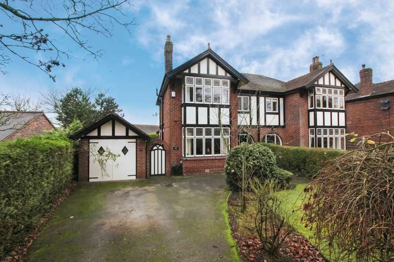 4 Bedrooms Semi Detached House for sale in Biddulph Road, Congleton, Cheshire, CW12