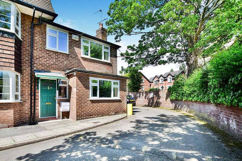 3 Bedrooms Semi Detached House for sale in Wilmslow Road, Didsbury, Manchester, M20