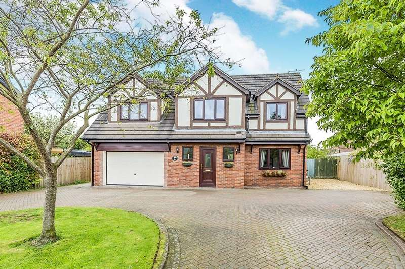 4 Bedrooms Detached House for sale in Croxton Lane, Middlewich, Cheshire, CW10