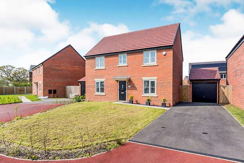 4 Bedrooms Detached House for sale in Wallenge Road, Middlewich, Cheshire, CW10