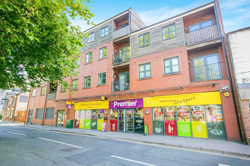 2 Bedrooms Apartment Flat for sale in Wellington Street, Stockport, Cheshire, SK1