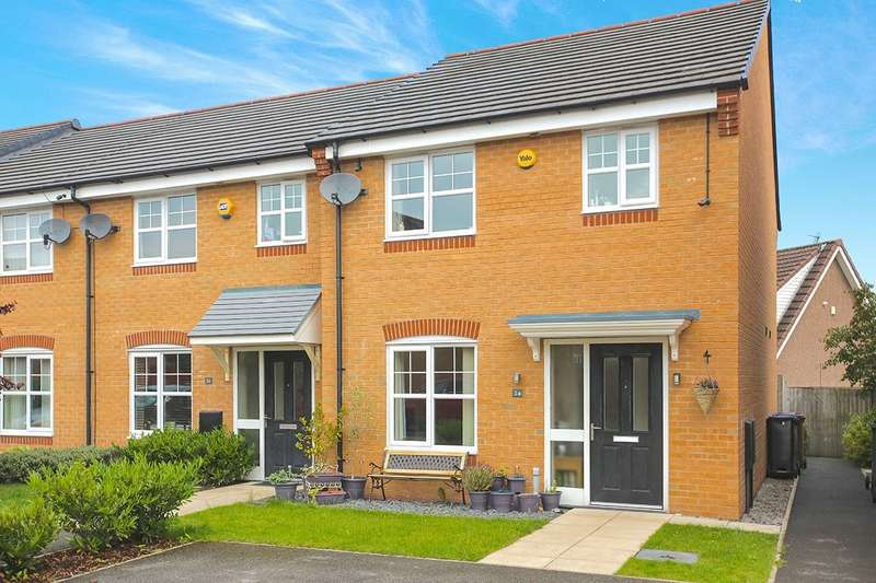 3 Bedrooms Semi Detached House for sale in Admiral Way, Hyde, Cheshire, SK14