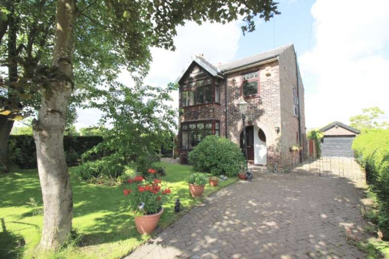 3 Bedrooms Detached House for sale in Martland Mill Lane, Wigan, Lancashire, WN5