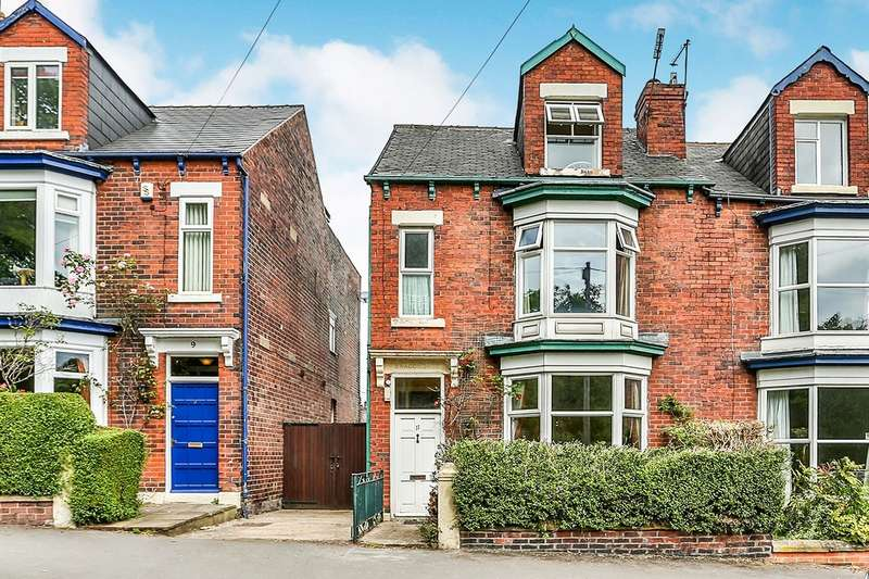 4 Bedrooms Semi Detached House for sale in Brook Road, Sheffield, S8