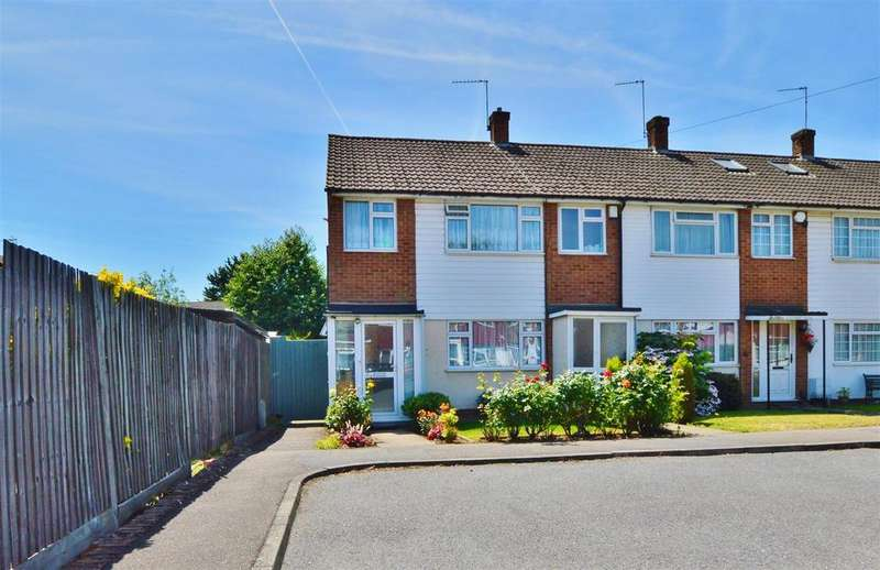 3 Bedrooms End Of Terrace House for sale in Cherry Avenue, Slough