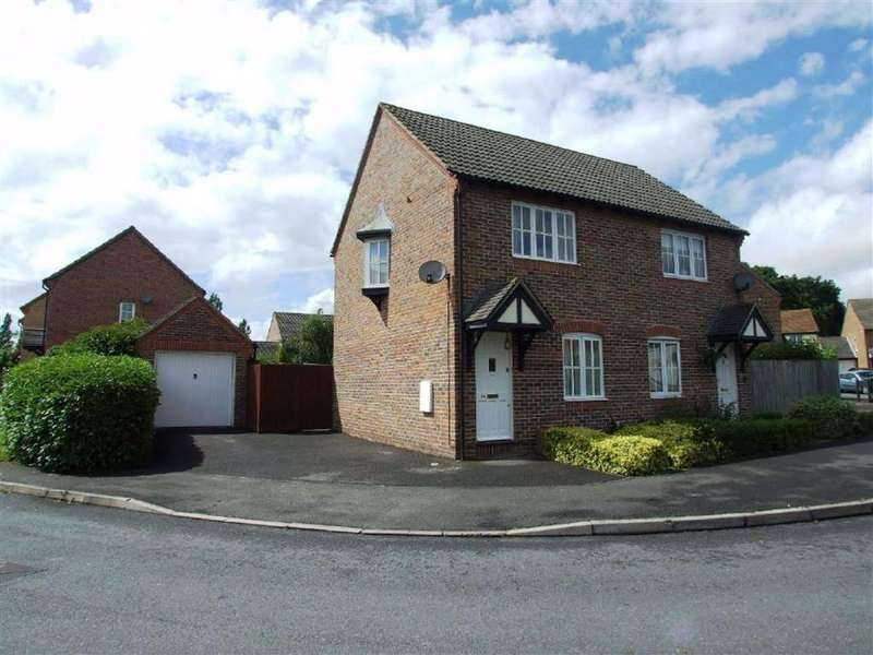 2 Bedrooms Semi Detached House for rent in Thatcham