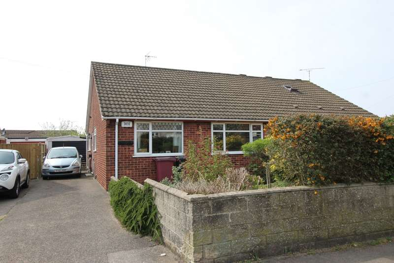 2 Bedrooms Semi Detached Bungalow for sale in Acres Road, Lower Pilsley, Chesterfield, Derbyshire, S45