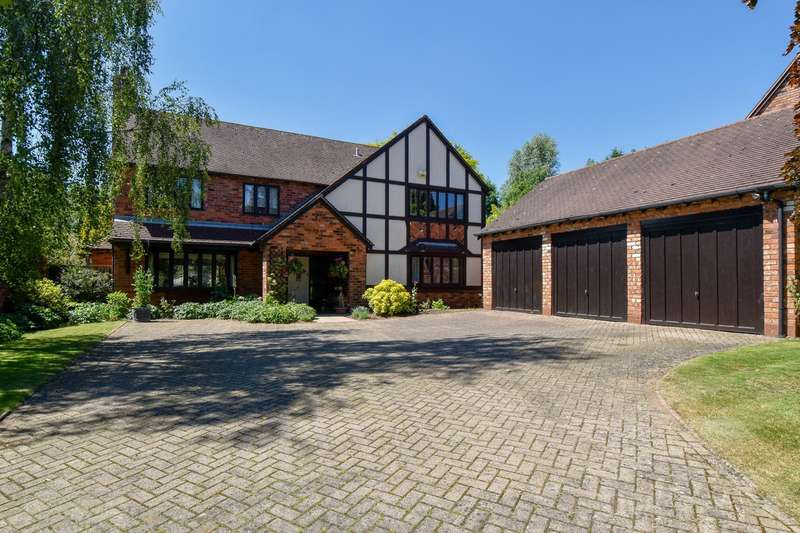 4 Bedrooms Detached House for sale in Hither Green Lane, Abbey Park, Redditch, B98