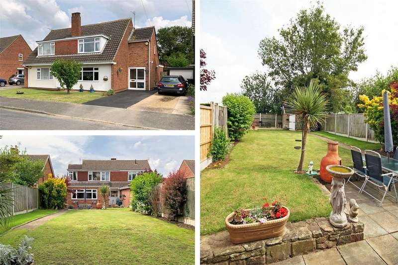 4 Bedrooms Semi Detached House for sale in Mayfield Drive, Hucclecote, Gloucester
