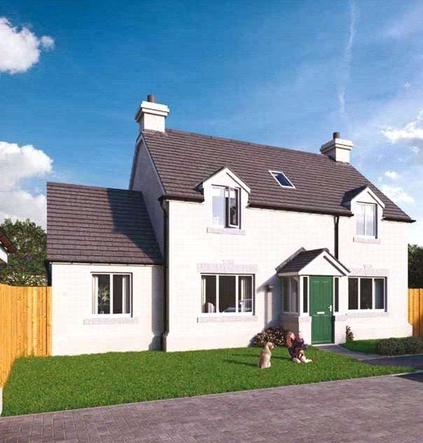 4 Bedrooms Detached House for sale in Plot 7 The Grove, Land South Of Kilvelgy Park, Kilgetty, Pembrokeshire