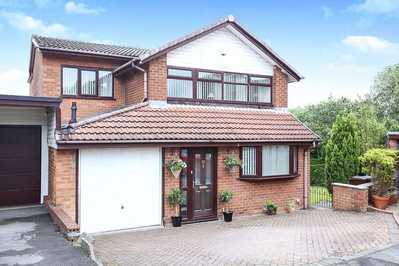 4 Bedrooms Detached House for sale in Crossbridge Road, Hyde, Cheshire, SK14