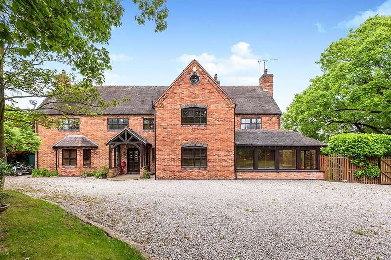 7 Bedrooms Detached House for sale in Wootton Lane, Wootton,Eccleshall, Stafford, ST21