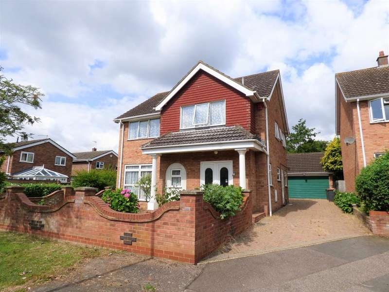 4 Bedrooms Detached House for sale in Lambourn Way, Bedford, MK41 7TR