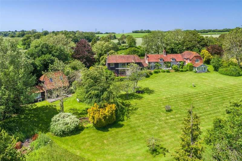 5 Bedrooms Detached House for sale in Chilgrove, Chichester, West Sussex, PO18
