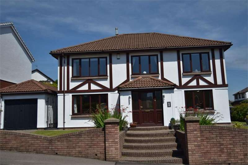 4 Bedrooms Detached House for sale in Magnolia Drive, Blackwood, Caerphilly