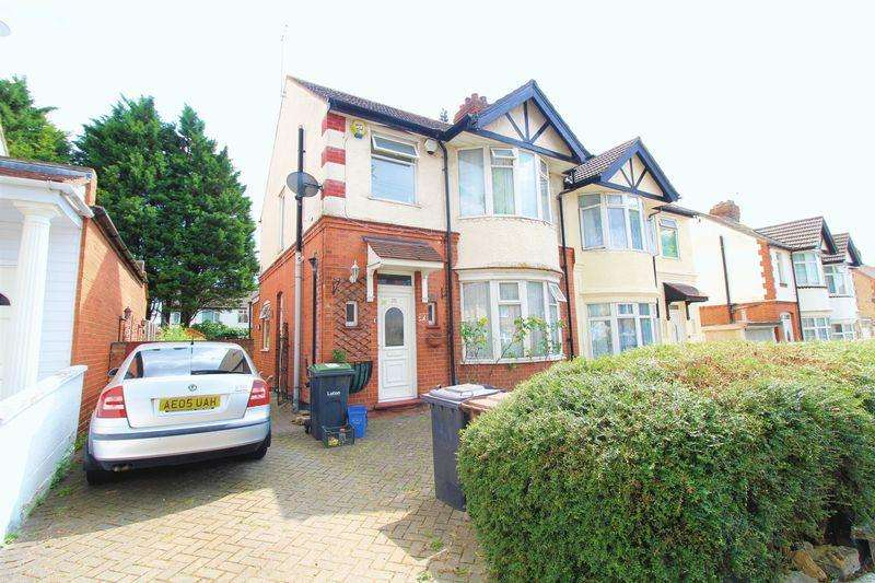 3 Bedrooms Semi Detached House for sale in CHAIN FREE HMO on Montrose Avenue, Luton