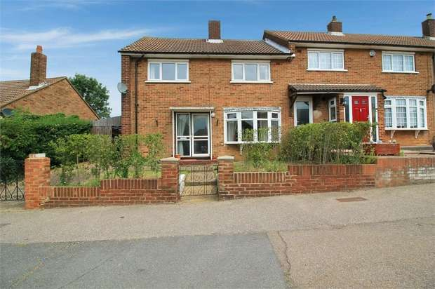 3 Bedrooms End Of Terrace House for sale in Crammavill Street, Grays, Essex