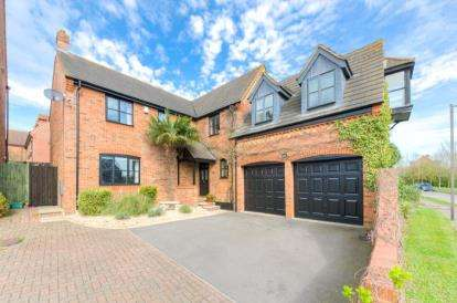 5 Bedrooms Detached House for sale in Garthwaite Crescent, Shenley Brook End, Milton Keynes