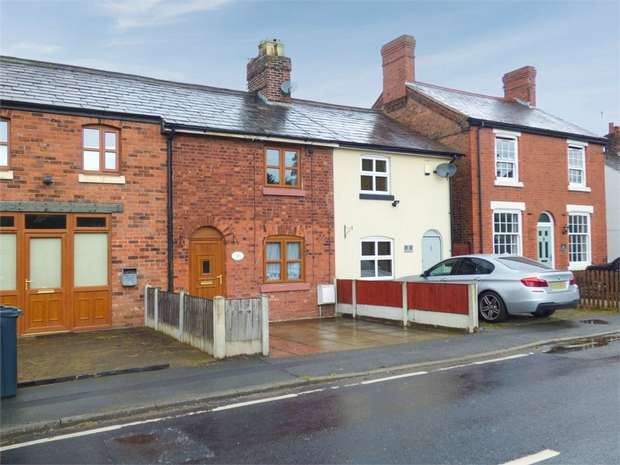 2 Bedrooms Terraced House for sale in Hill Top Road, Acton Bridge, Northwich, Cheshire