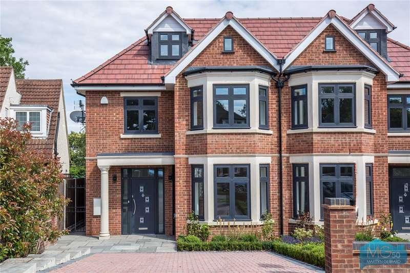 5 Bedrooms Semi Detached House for sale in Grimsdyke Crescent, Arkley, Hertfordshire, EN5