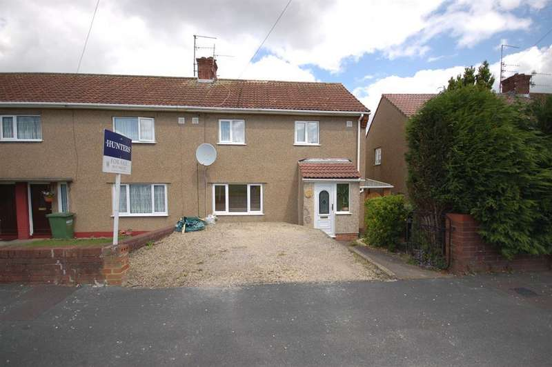 3 Bedrooms End Of Terrace House for sale in Chipperfield Drive, Kingswood, Bristol BS15 4DP