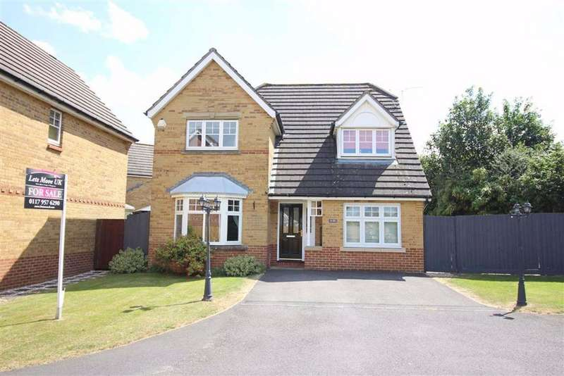 4 Bedrooms Detached House for sale in Emet Grove, Emersons Green, Bristol