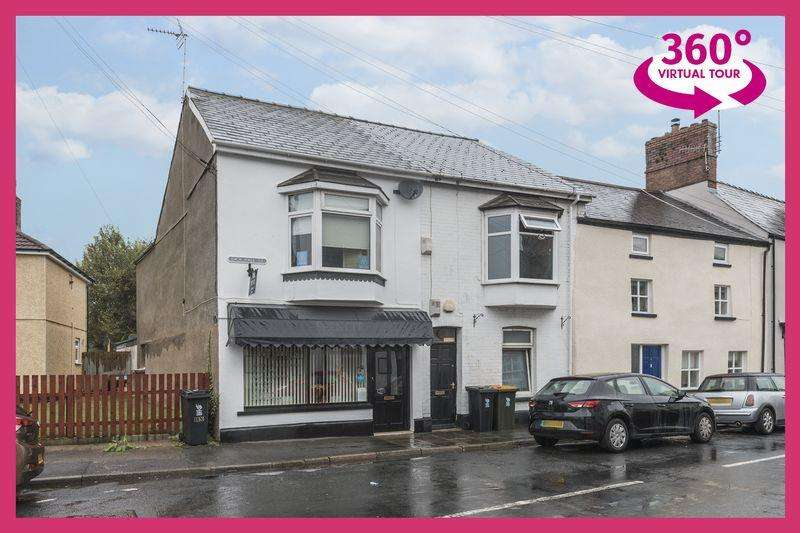1 Bedroom Apartment Flat for sale in Freehold Shop and Flat in Caerleon - REF#00004688