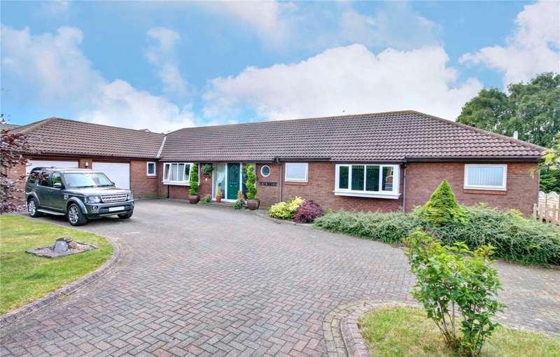 3 Bedrooms Detached Bungalow for sale in Westlands, Coxhoe, Durham, DH6
