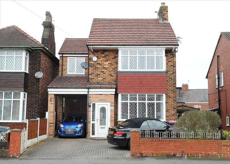 4 Bedrooms Detached House for sale in 28 Boat Lane, Irlam M44 6EN