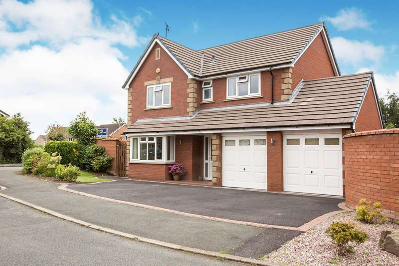 4 Bedrooms Detached House for sale in Beech Close, Congleton, CW12